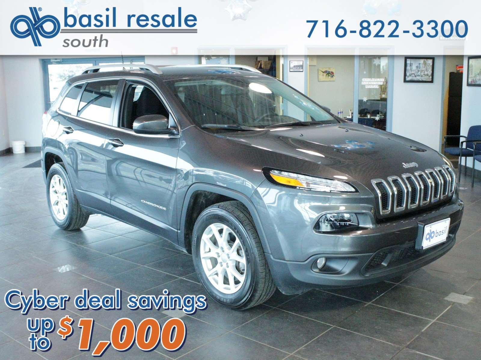 pre-owned 2016 jeep cherokee latitude sport utility in buffalo