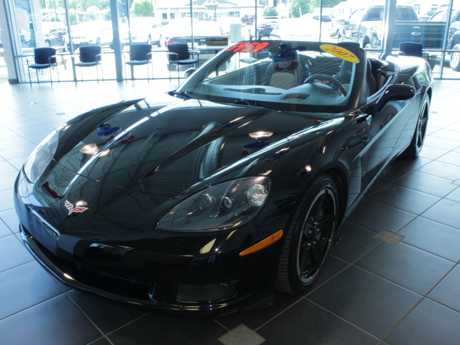 Pre Owned 2007 Chevrolet Corvette Convertible Convertible in Buffalo