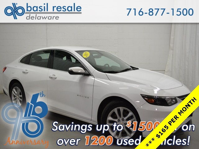 Pre Owned 2017 Chevrolet Malibu Lt 4d Sedan In Buffalo D3003