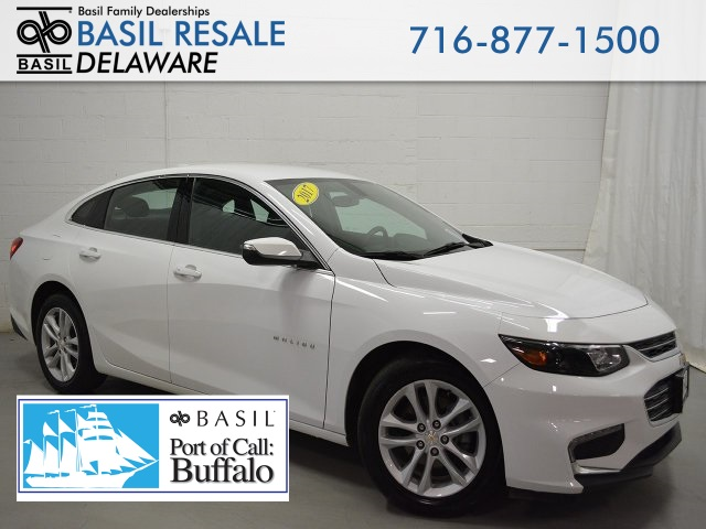 Basil Used Cars >> Pre Owned 2017 Chevrolet Malibu Lt 4d Sedan In Buffalo D3003
