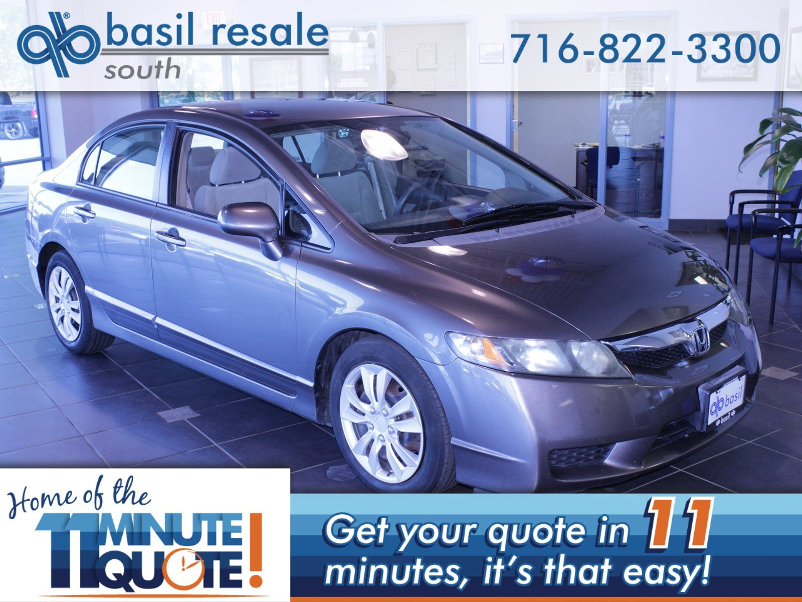 Pre Owned 2009 Honda Civic Sdn Lx