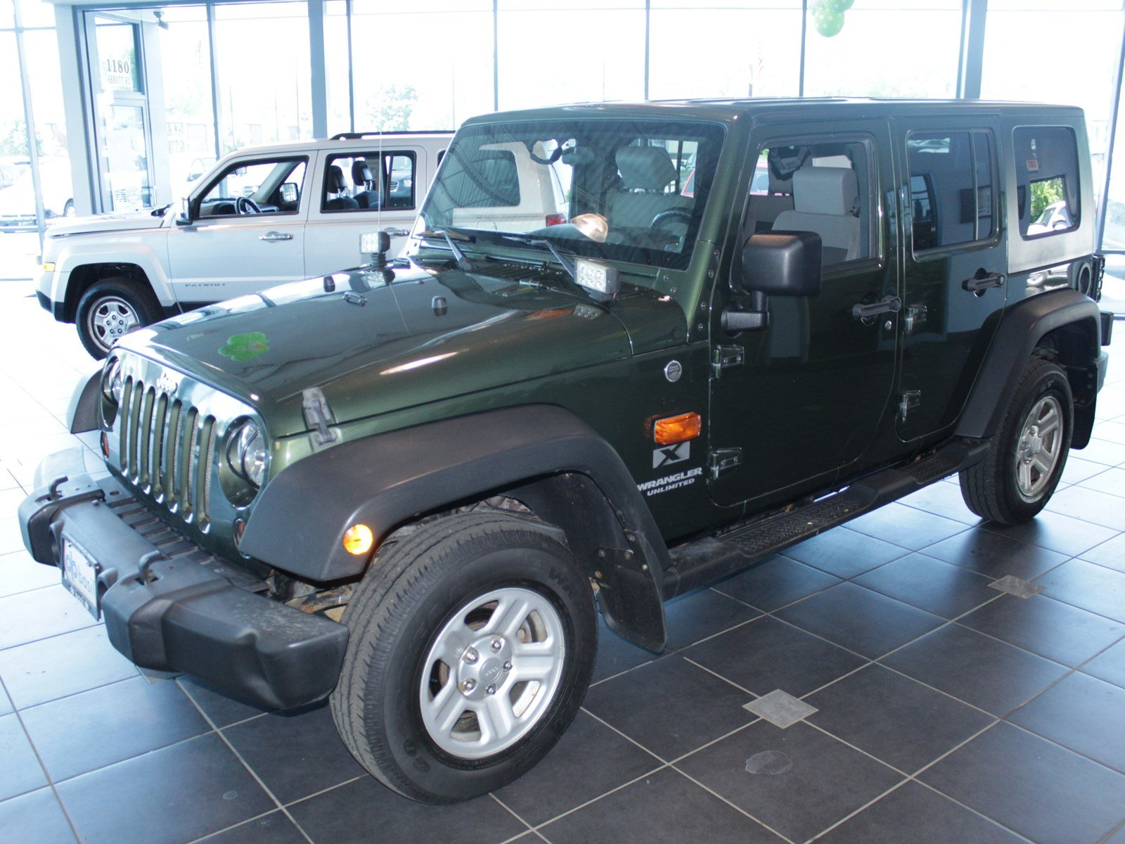 Pre Owned 2008 Jeep Wrangler Unlimited X