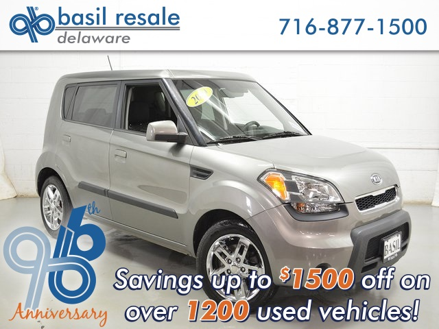 Pre Owned 2010 Kia Soul Plus 4d Hatchback In Buffalo D3130t Basil