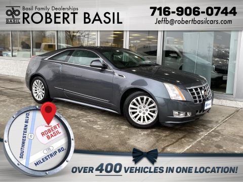 Pre-Owned 2013 Cadillac CTS Coupe Performance