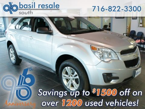 Certified Pre-Owned 2012 Chevrolet Equinox LS