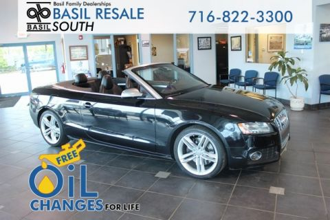 Pre-Owned 2012 Audi S5 3.0 Cabriolet Prestige